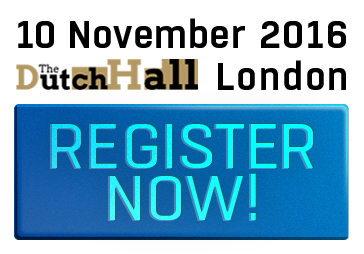 15th & 10th November, London, Book Now